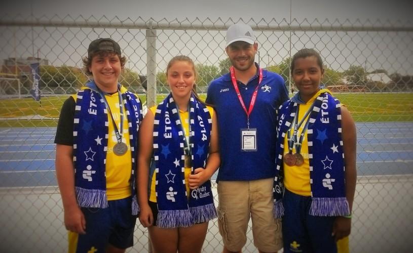 Les Vaillants aux Jeux du Québec 2014 à Longueuil