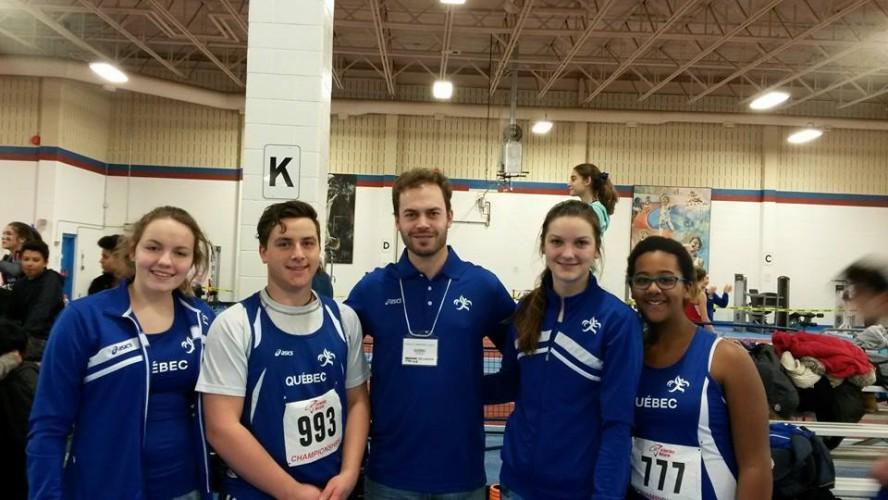 Les athlètes de l'Est-du-Québec font honneur à notre région