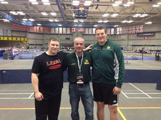 Trois anciens Vaillants au Championnat d'athlétisme de Sport interuniversitaire canadien