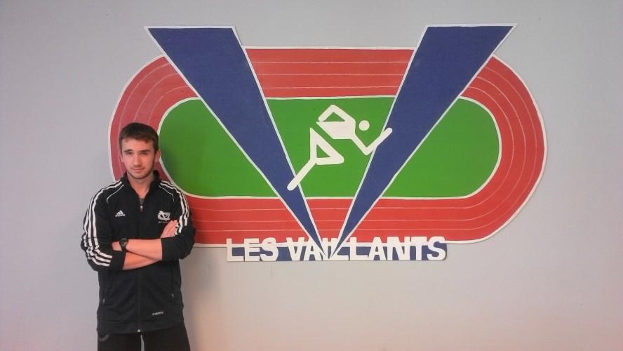 Jean-Simon Bélanger est l'élève-athlète de la deuxième étape