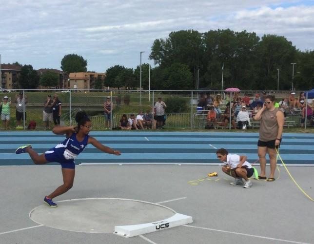 Les Vaillants aux Championnats nationaux d'athlétisme de la Légion