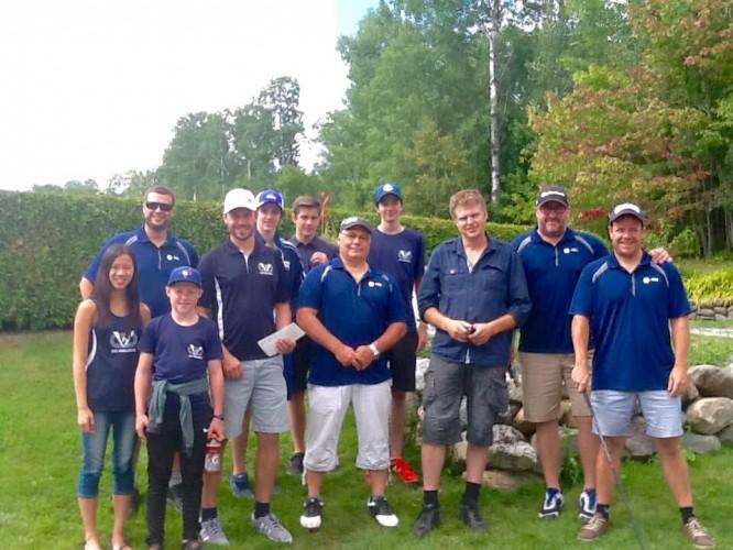Un succès pour le 5e tournoi de golf des Vaillants