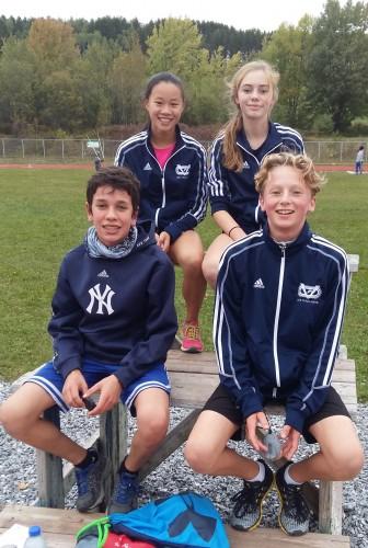 Quatre Vaillants au Cross-country Filoup