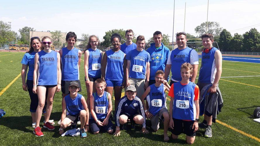 Belle contribution des Vaillants au championnat provincial scolaire d'athlétisme