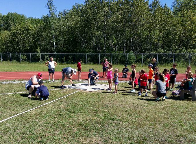 Très belle journée d'athlétisme à Pohénégamook