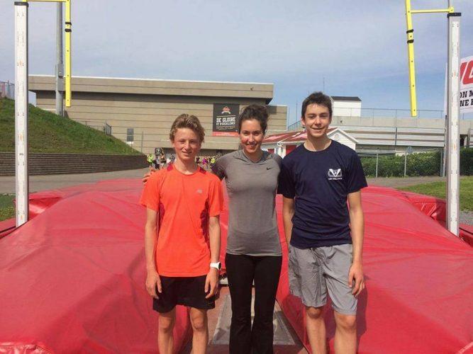Une semaine avec les grands noms de l'athlétisme pour Les Vaillants