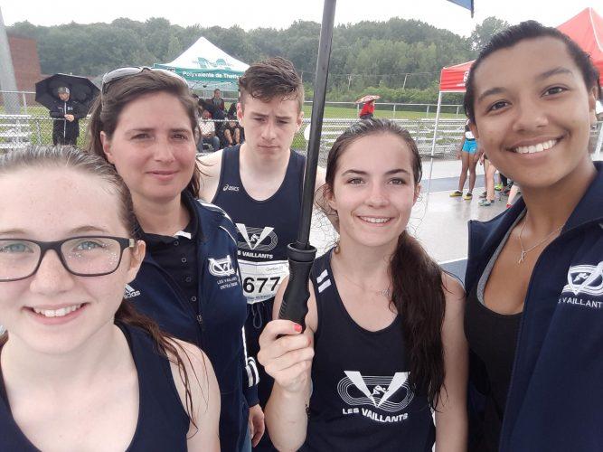 Trois compétitions en un weekend pour Les Vaillants