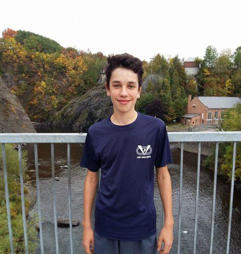 Alexis Fournier médaillé d'argent au Cross-country Filoup