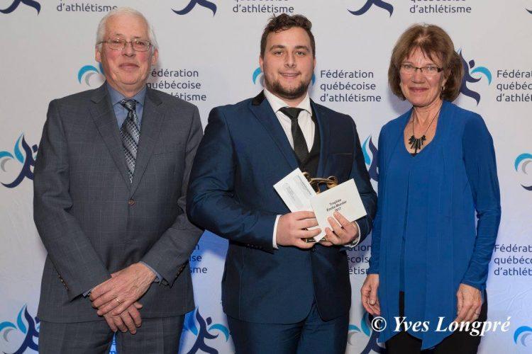 Fabrice Thériault remporte le trophée Émilie-Mondor
