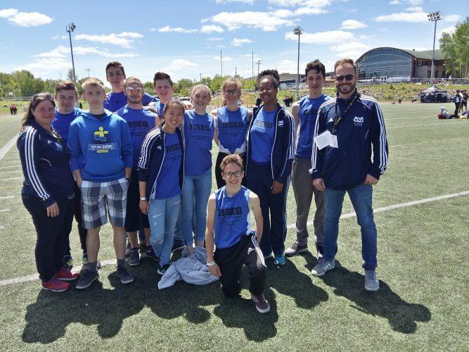 Une belle contribution des Vaillants pour la délégation de l'Est-du-Québec
