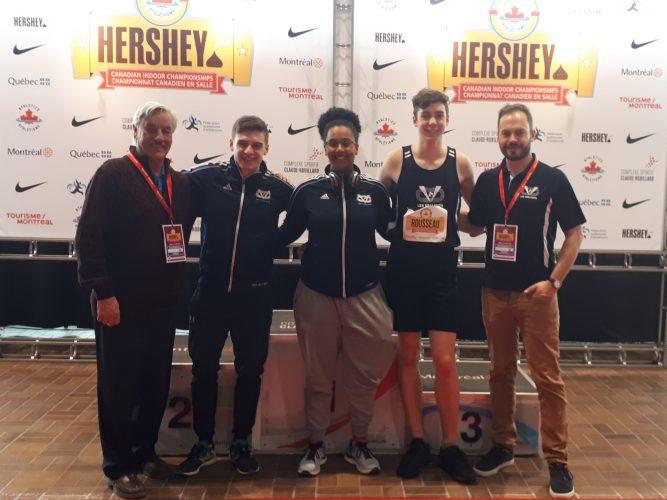 Trois en trois pour les Vaillants au championnat canadien Hershey