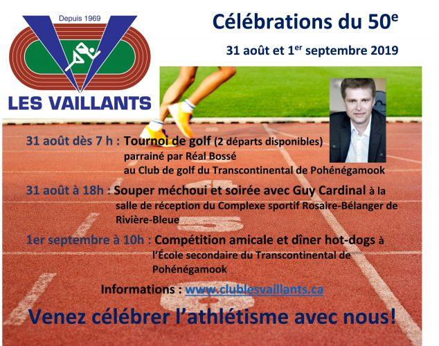 Le public est officiellement invité au 50e des Vaillants!